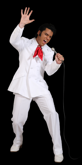 Pic of Chris Connor as Elvis in Elvis The Ultimate Performance
